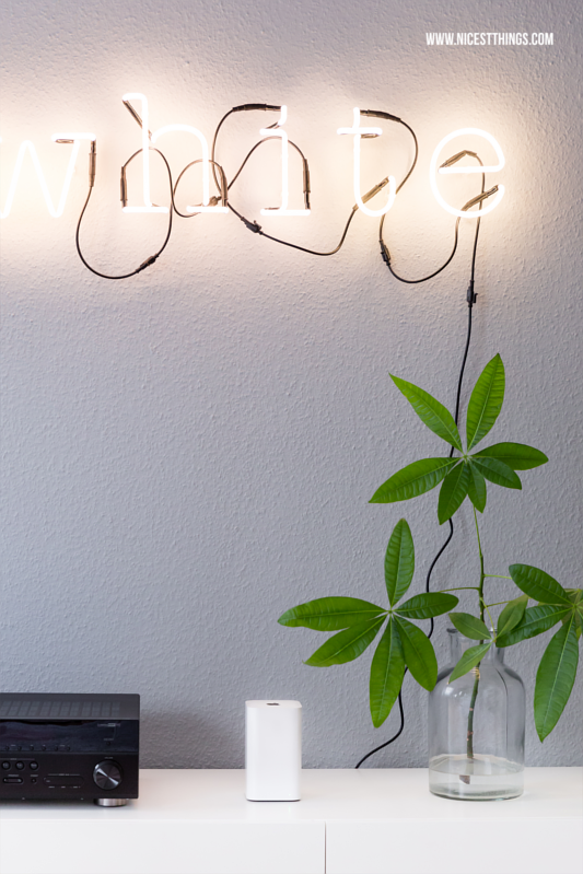 Neon Art Leuchtbuchstaben Wanddeko von Seletti