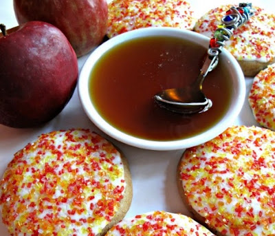 Apples and Honey Cookies by The Monday Box