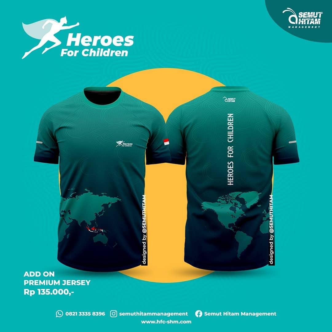 Jersey Run 👕 Heroes for Children • 2021