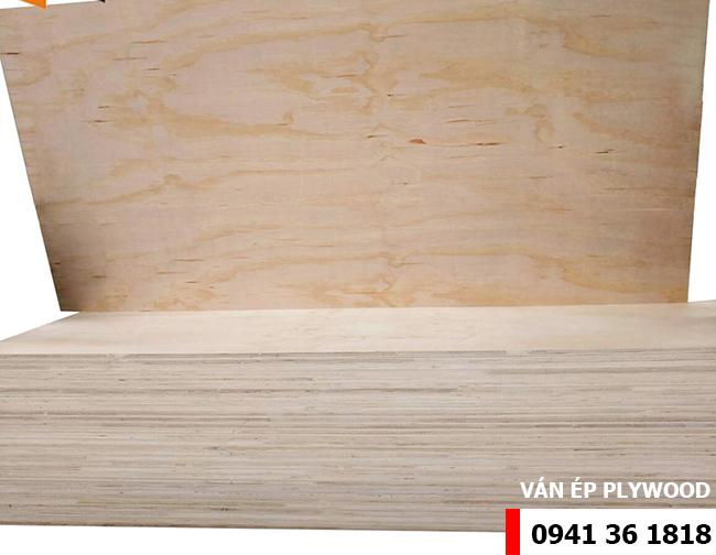 Ván ép plywood mặt gỗ thông