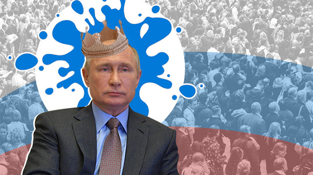 """""""Корона"""" для Путіна, Бог у законі, опоненти за ґратами. 15 фактів про російський """"референдум"""" за конституцію"""