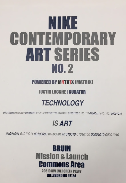 2017 | Justin Lacche | Artist & Curator | No. 2 - Nike Contemporary Art Series