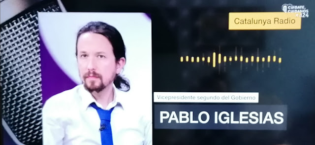 "Pablo Iglesias: ""Voy a ser cristalino: pacta sunt servanda (lo firmado obliga)"""