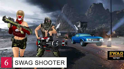 Game Battle Royale Offline Android Swag Shooter