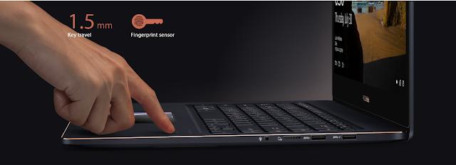fingerprint ASUS ZenBook Pro 15 UX580