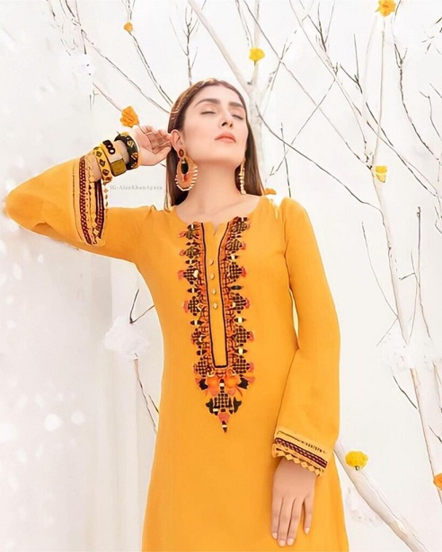 Ayeza Khan New One Photoshoot For Winter Collection 7