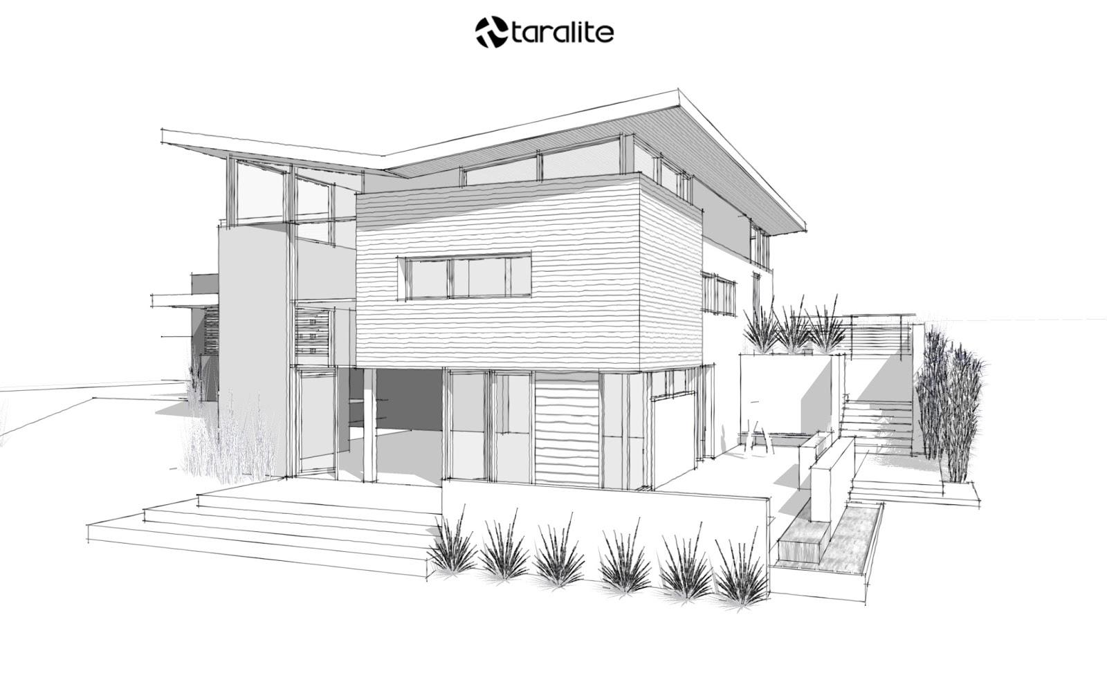 Image Number Of Gambar Sketsa Desain Eksterior Rumah