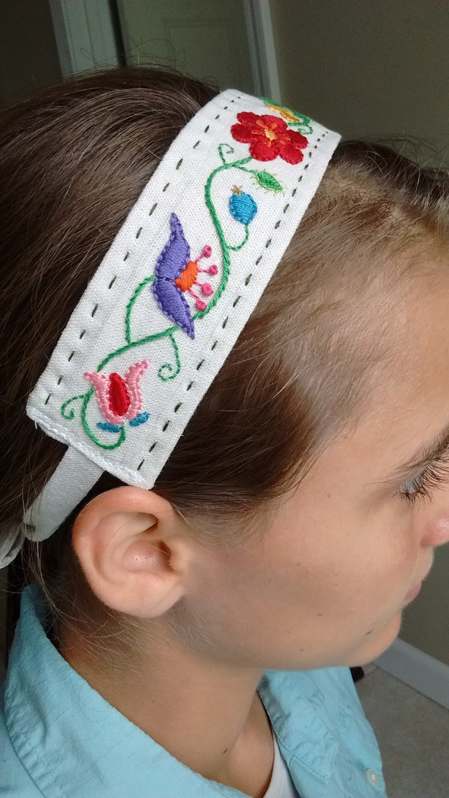 how to make a simple hair band