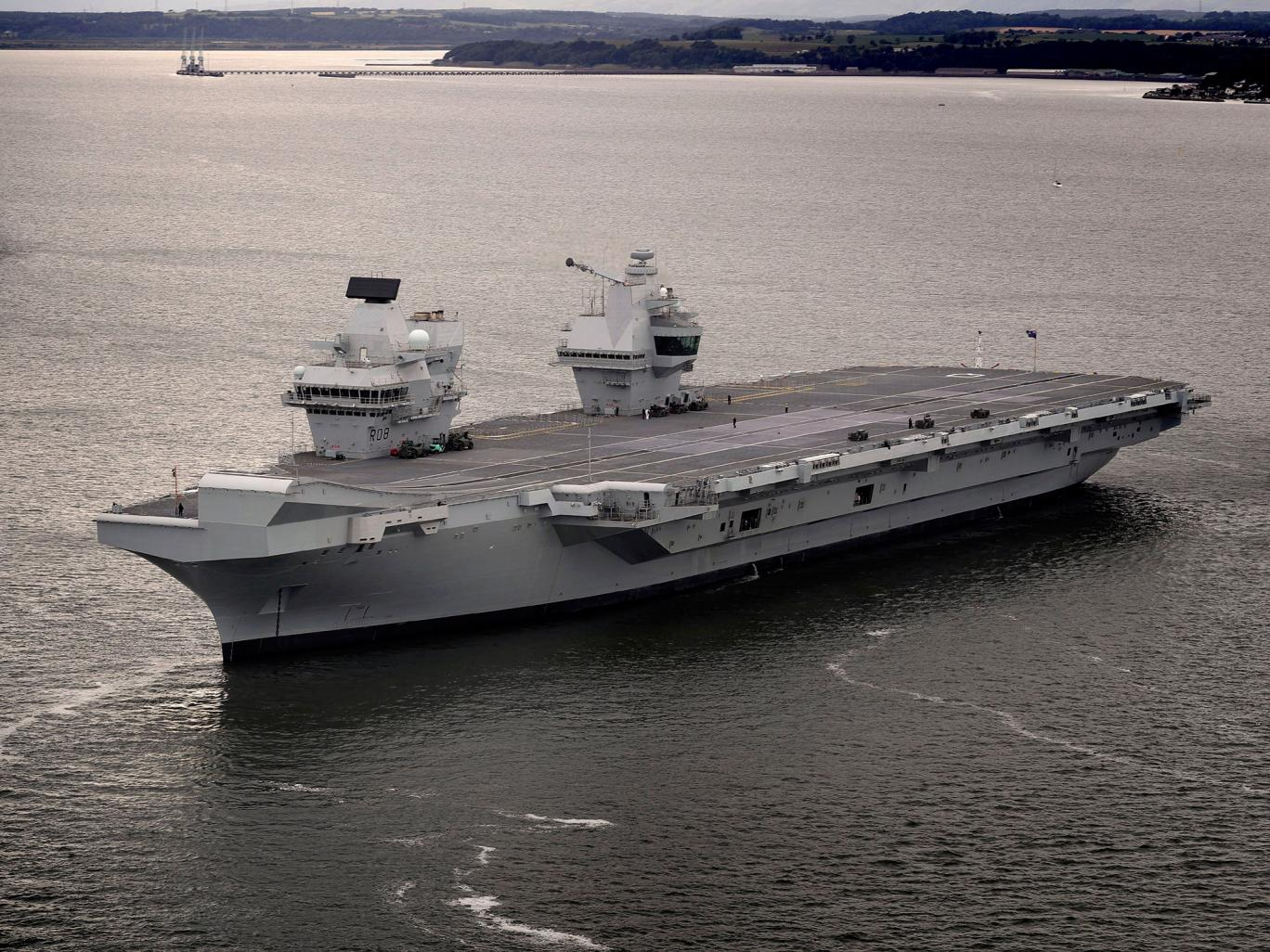 War News Updates: The U.K. Navy's Aircraft Carriers Are ...