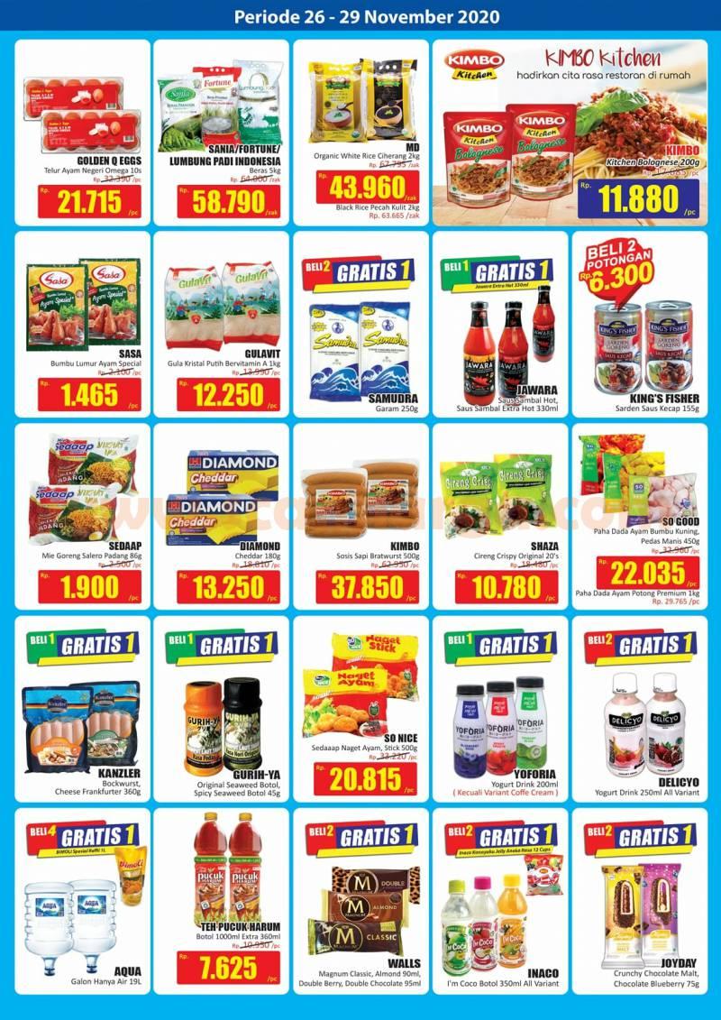 Katalog Promo JSM Hari Hari Swalayan Weekend 26 - 29 November 2020 2