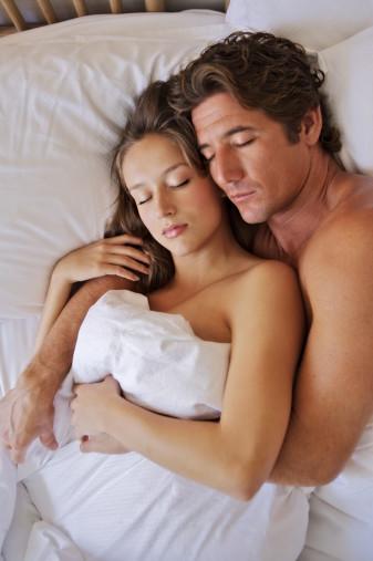 Sexy Couple Sleeping Pic