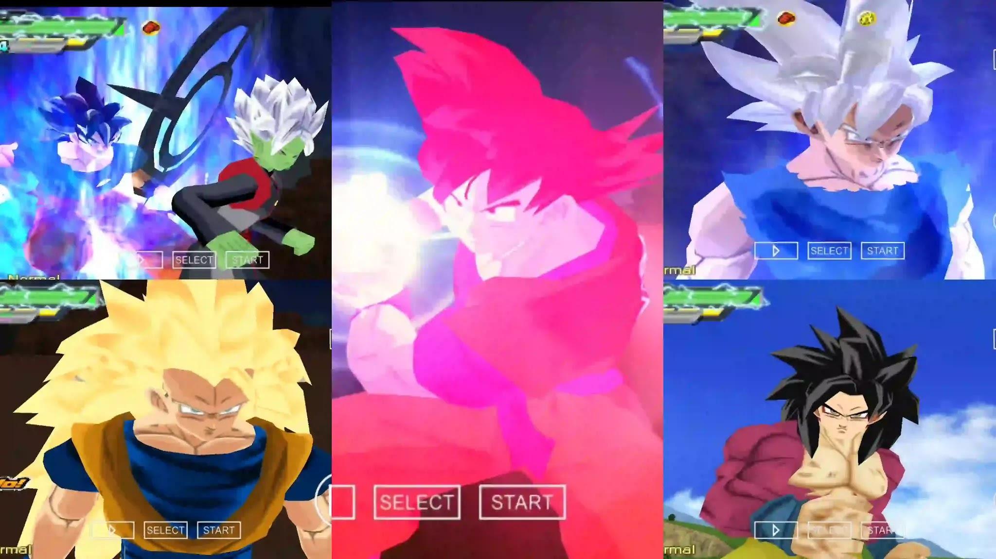 Dragon Ball Super Goku all Forms
