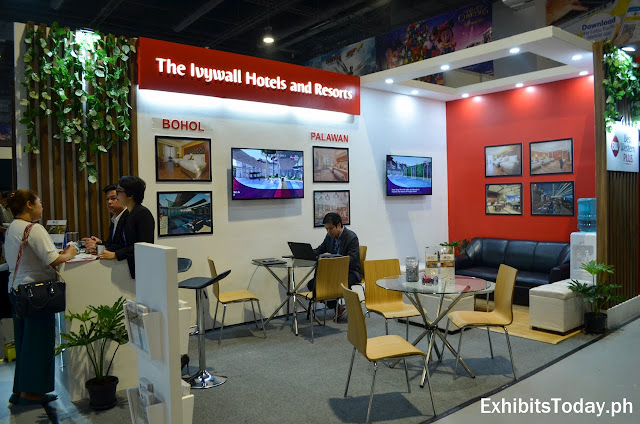 The Ivywall Hotels and Resorts exhibit booth