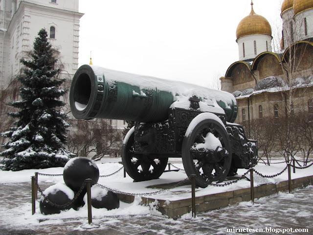 Московский кремль зимой