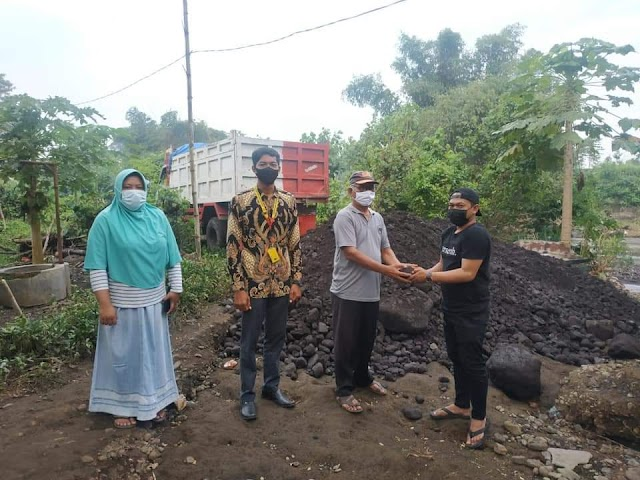 Ada Bantuan Lagi Dari PT Grand Zamzam Indonesia