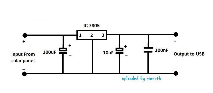 mobile power bank circuit