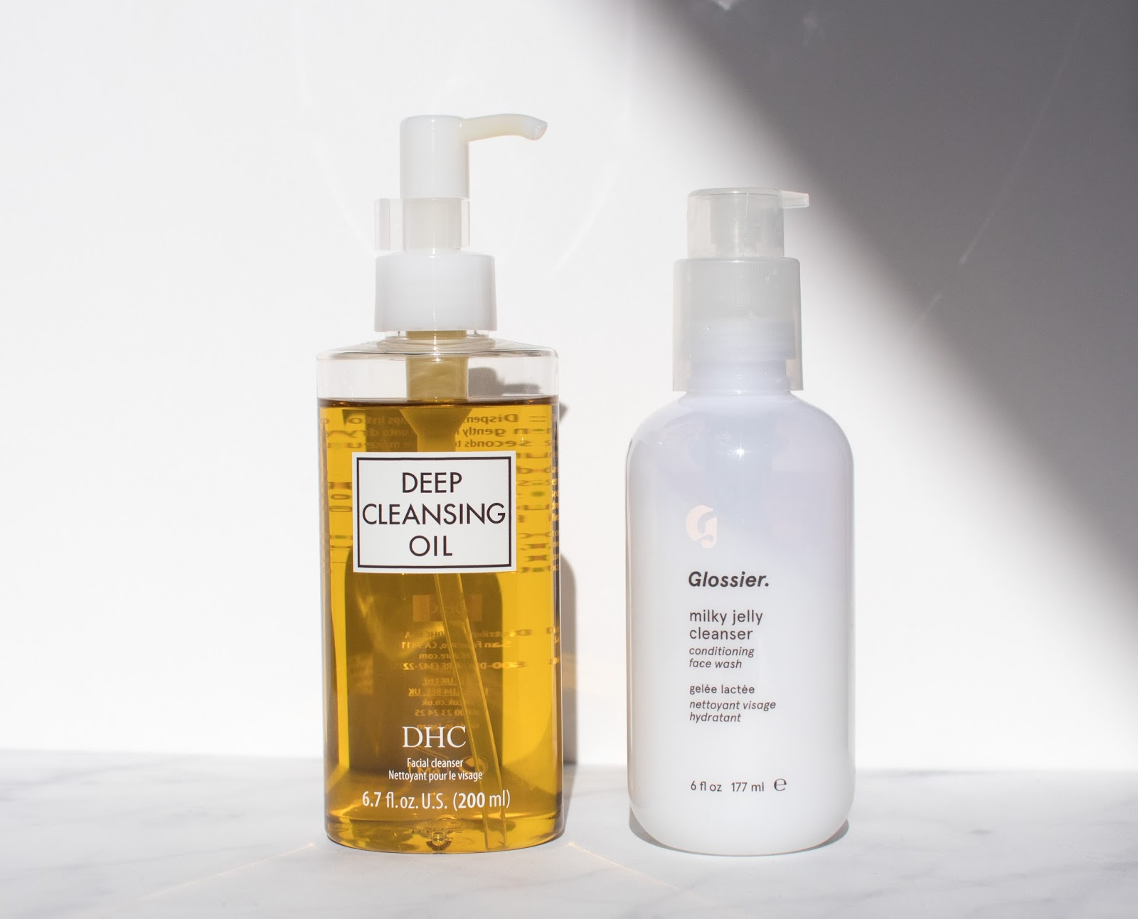 Oil Cleanser and Low pH Cleanser for Oily and Acne Prone Skin