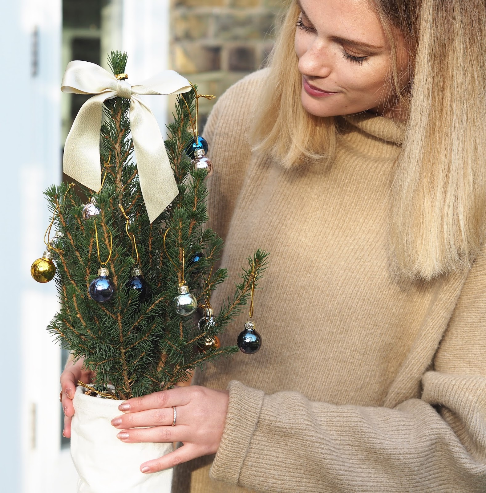 Christmas through the letterbox