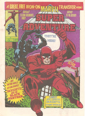 Marvel Super Adventure #1, Daredevil and the Black Panther