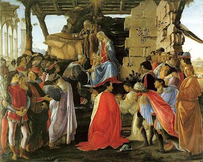 Sandro Botticelli, L'Adorazione dei Magi