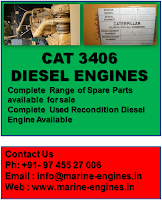 CAT 3406, Turbocharger, Spare parts for CAT 3406, used, recondition, supply, seller, sell, sale, CAT Diesel engine