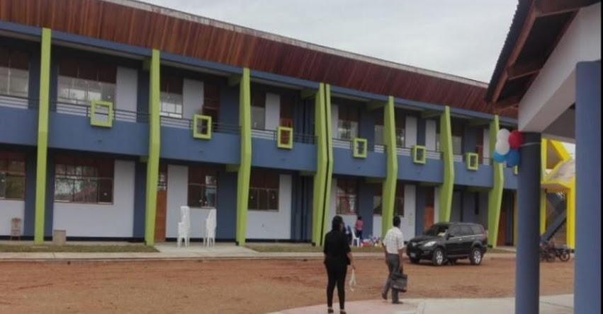 Inauguran nueva infraestructura de dos colegios en Ucayali