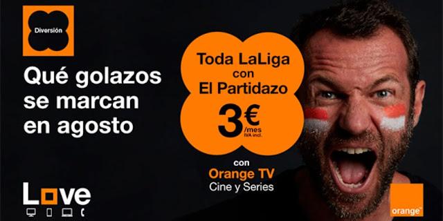 Orange es uno de los operadores que ofrece todo el fútbol