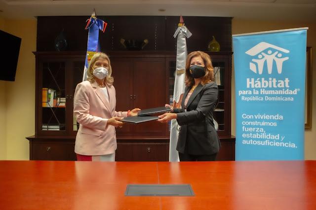 Hábitat para la Humanidad y Sur Futuro se unen para impulsar mejoramiento y construcción de viviendas en el país