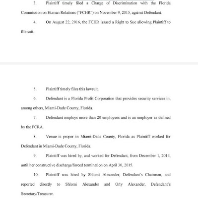 Kent Security of Palm Beach is sued again.