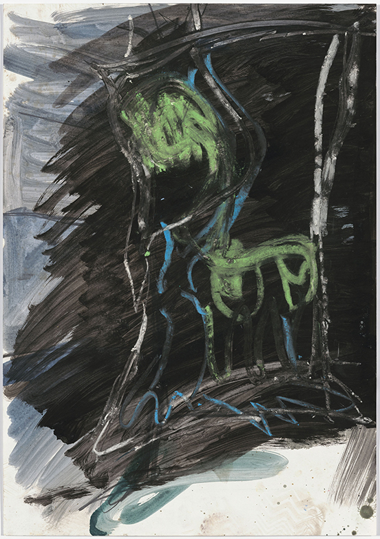Per Kirkeby Untitled, ca. 1982 Pencil, pastel, ink, gouache on paper 64 x 45 cm