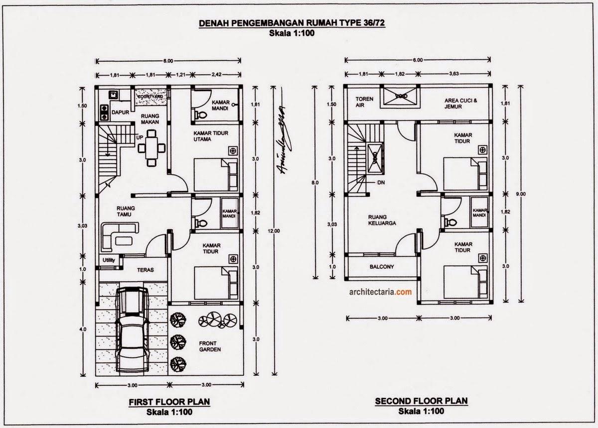 Desain Rumah Minimalis Type 36 Khalikacom