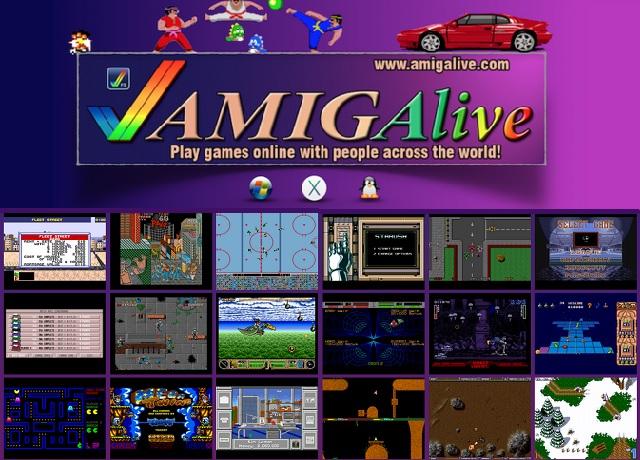 AmigAlive - Παίξτε δωρεάν παιχνίδια της Amiga online με αντιπάλους από όλο τον κόσμο