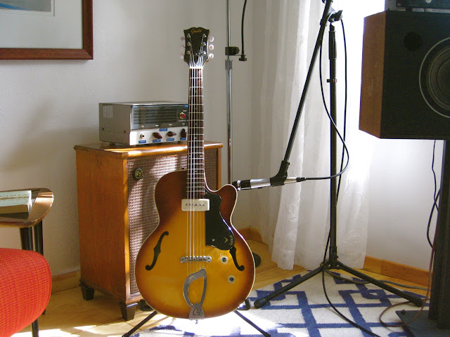 Guild M-65, M-65 3/4, Freshman, Hoboken, New Jersey, Franz pickup, Fransch, hollow body, jazz, electric guitar