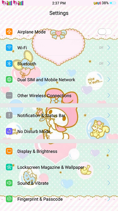 Oppo Theme: Oppo F3|F3 Plus Melody Green Theme