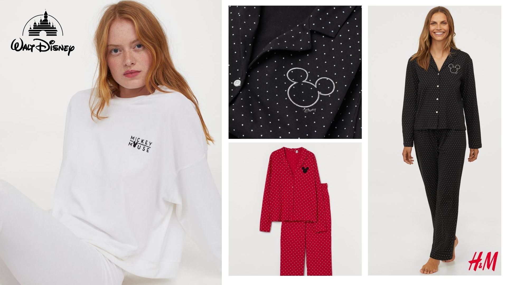Pijamas Disney H&M