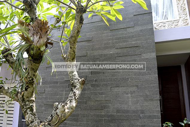 andesit basalto untuk fasad di alam sutra, bintaro, BSD, gading serpong