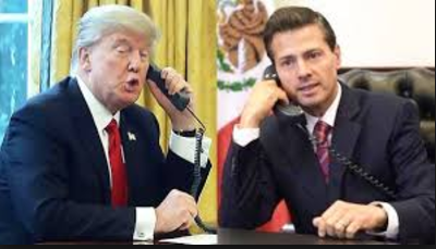 Transcript of Trump's call to Mexican president asking him not to tell press that he won't pay for the wall is released
