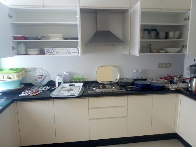 ديكور مطبخ صغير وبسيط