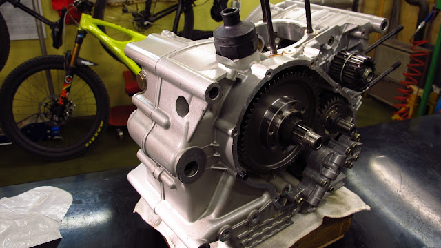 Ducati 996 Engine Teardown