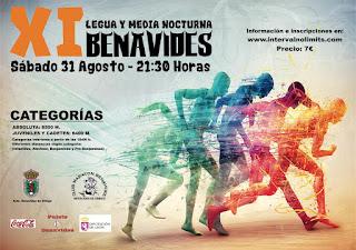 Legua y Media Nocturna Benavides 2019