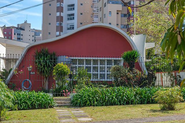 Casa em estilo modernista