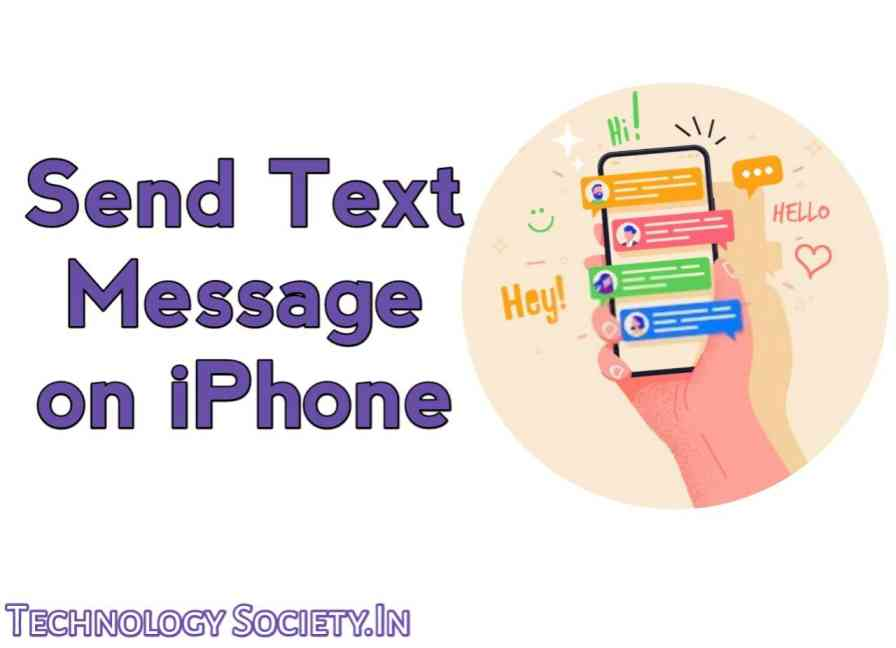 Send a Text Message on The iPhone