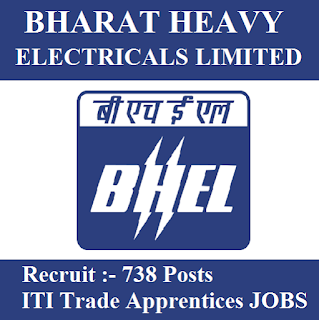Bharat Heavy Electricals Limited, BHEL, Madhya Pradesh, MP, 10th, ITI, Apprentice, Trade Apprentice, ITI Apprentices, freejobalert, Sarkari Naukri, Latest Jobs, Hot Jobs, bhel logo