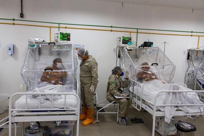 Detectaron una nueva variante del coronavirus en Brasil