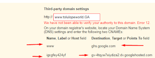 HOW TO LINK YOUR DOMAINKING DOMAIN TO YOUR BLOGGER BLOG