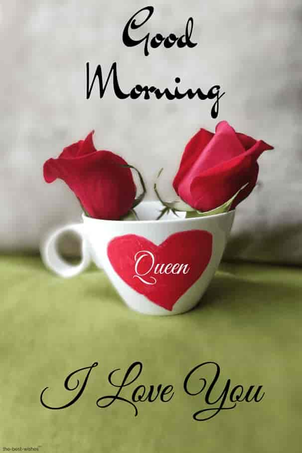 romantic good morning images to my queen