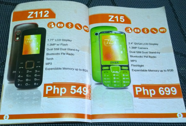 ZH&K Mobile, ZH&K Android Smartphones