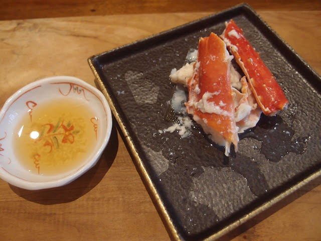 steamed crab with sake