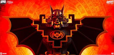 Batman Urban Aztec Vinyl Bust by Jesse Hernandez x Unruly Industries
