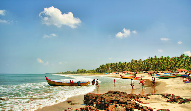 Varkala one of the best beach in India